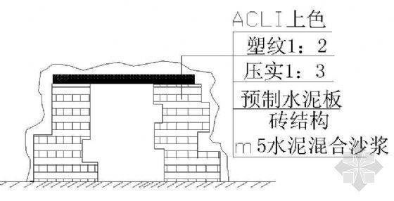 GRC悬崖峭壁结构图