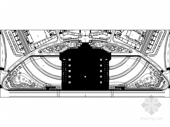 [江西]市民广场景观工程施工图