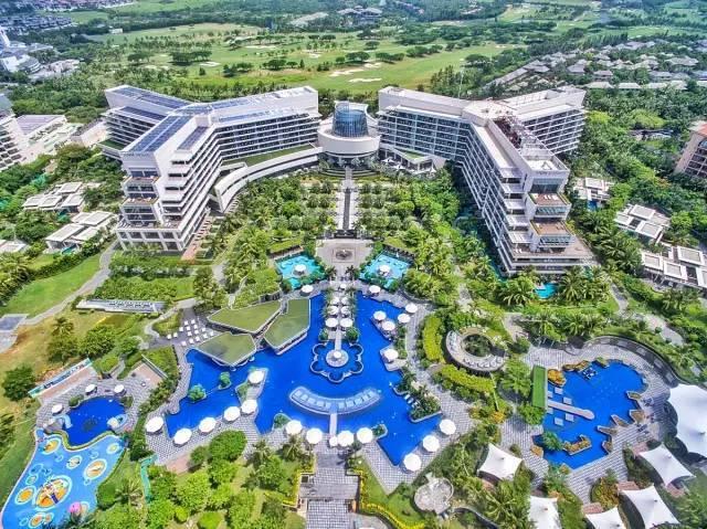 10家顶级酒店的整体景观设计,震撼人心...-亚龙湾美高梅度假酒店