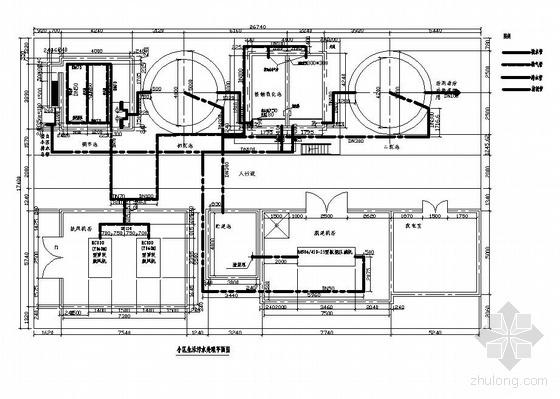 某小区污水处理工程图纸