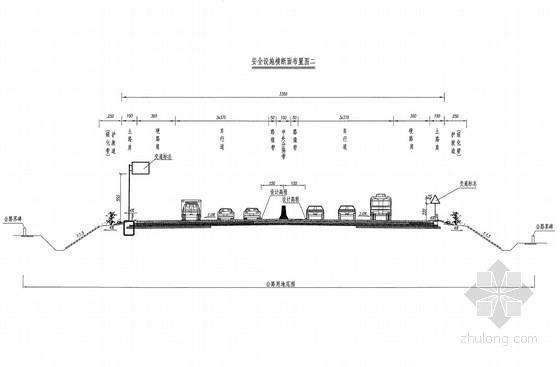 沥青混凝土道路安全生命防护工程设计套图(51页)