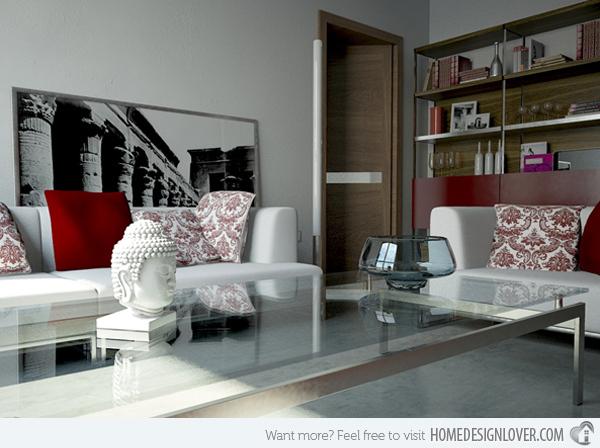 20个时尚的客厅装修设计案例_12