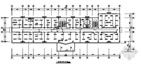 某二层办公楼电气设计图