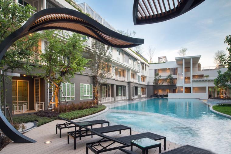 泰国秋季公寓楼小区_4