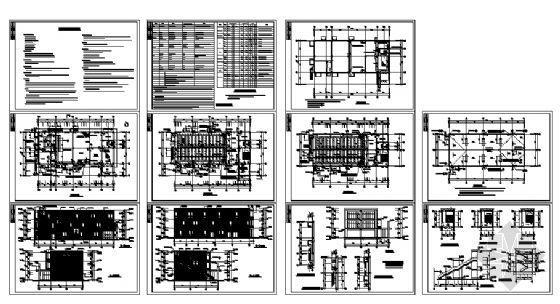 某通信楼建筑施工图-4