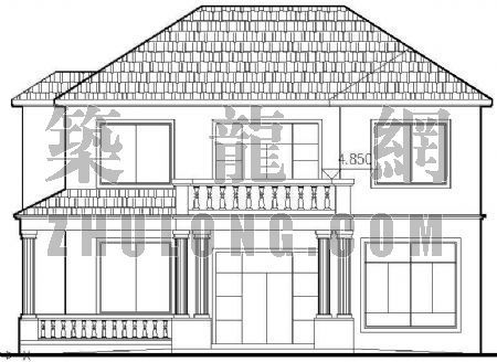 两层别墅建筑结构施工图