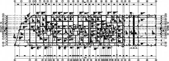[新疆]18层带夹层框剪住宅结构施工图