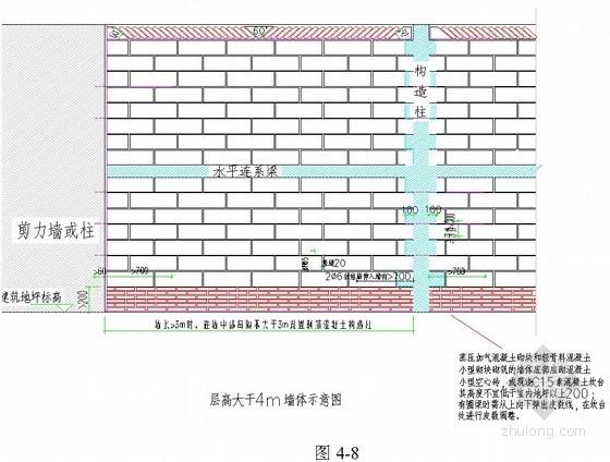 [贵阳]住宅楼砌筑工程施工方案(蒸压加气混凝土砌块)