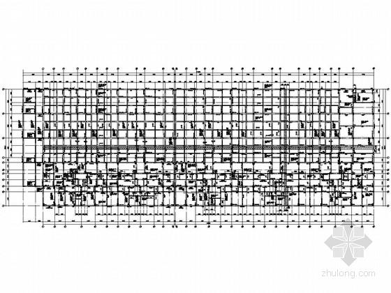 十一层框剪结构综合楼结构施工图(筏形基础)