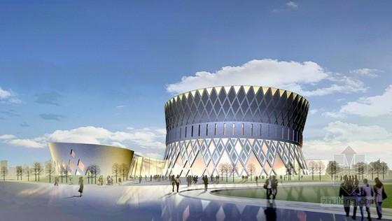 [内蒙古]民族剧院外墙钢结构及屋顶钢结构施工方案