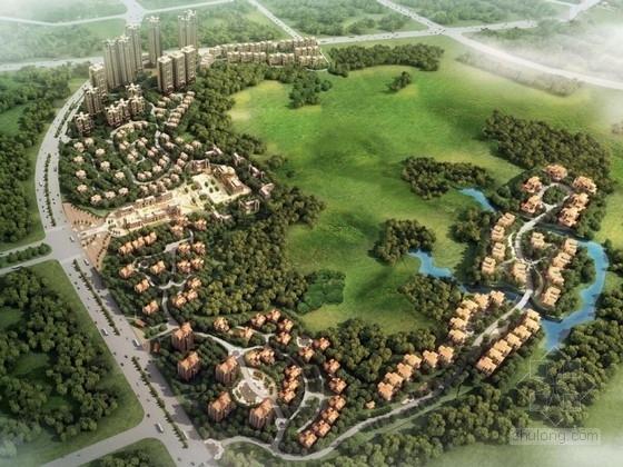[内蒙古]欧式风格住宅区规划及单体设计方案文本