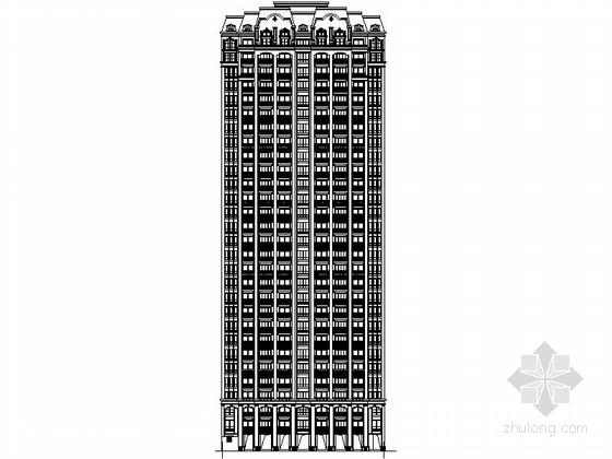[浙江]现代风格高层住宅区规划设计施工图(含140余页图纸)
