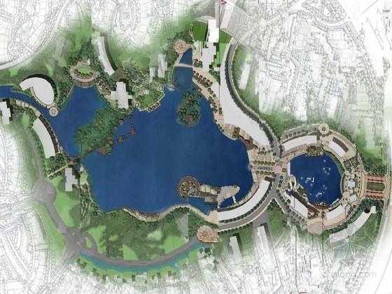[北京]新古典休闲风情滨湖公园景观规划设计方案(知名设计)