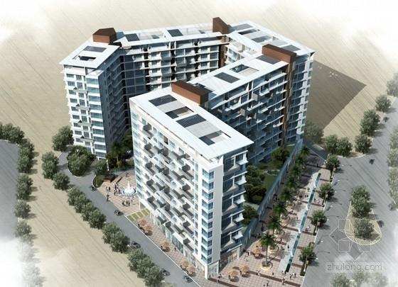 [深圳]某小区规划及单体设计方案文本