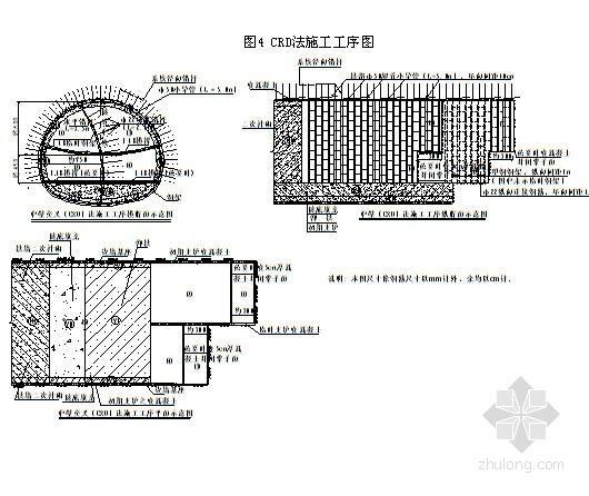 CRD法施工工序图
