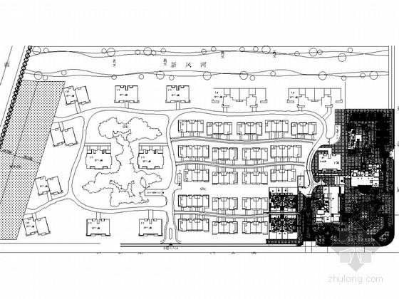 [北京]高档居住区会所及售楼处样板区景观施工图