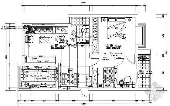 二室两厅装修图