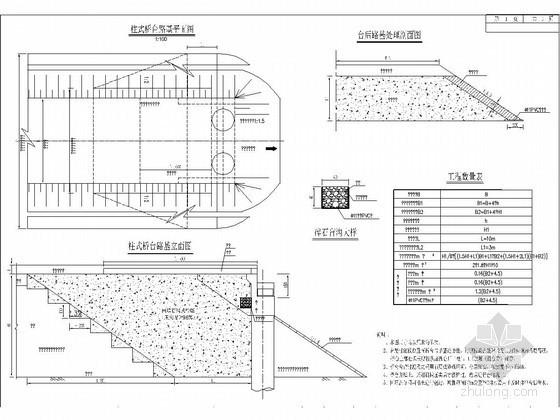 桥涵路基过渡段处理设计图