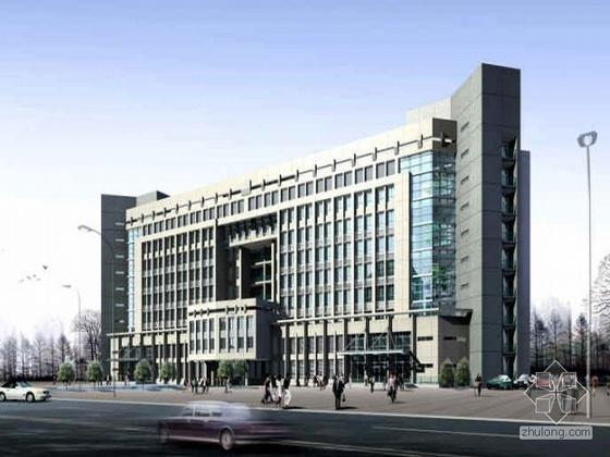 [泰州]某政府办公管理大楼投标方案文本