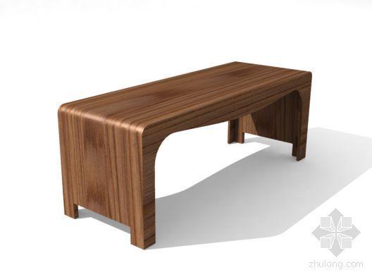 中式桌模型25