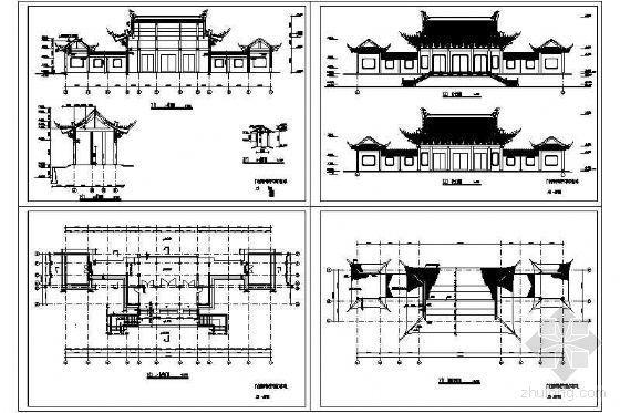东王府殿古建成套施工图-2