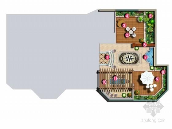 [上海]别墅庭院景观设计方案