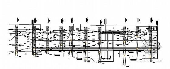 [广东]地铁车站深基坑地质勘察剖面图