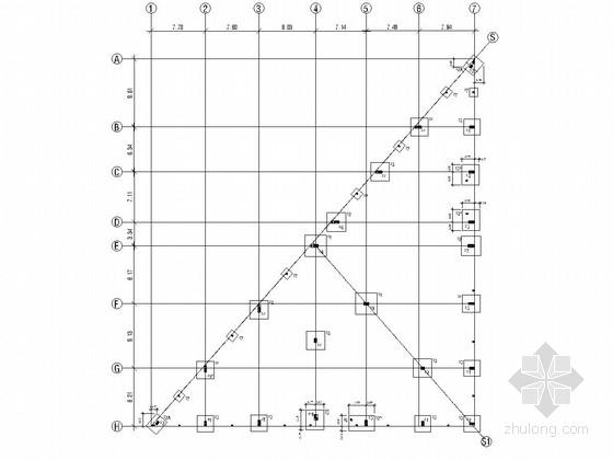 地基平面布置图
