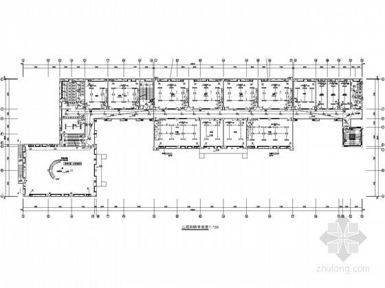 [湖南]活动室办公室电气施工图
