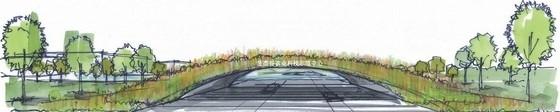 [北京]农业生态谷入口详细设计方案(日本设计院)-景观效果图