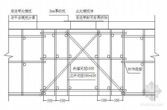 南京某综合楼施工组织设计(框剪结构 金陵杯)