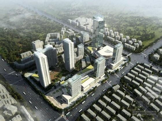 [武汉]现代风格商业区规划设计方案文本