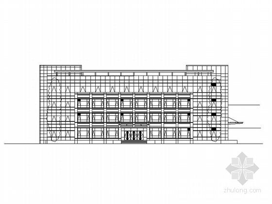 [江苏]多层框架式行政办公楼建筑施工图