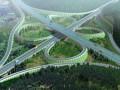 [湖北]64km双向四车道高速公路长江大桥两岸接线工程设计投标技术文件(含CAD图)