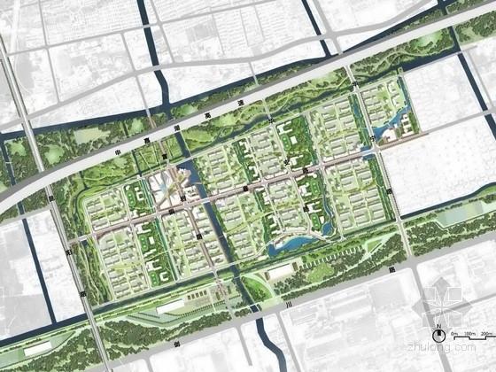 [上海]大型商住混合型社区景观规划设计方案(知名设计单位)