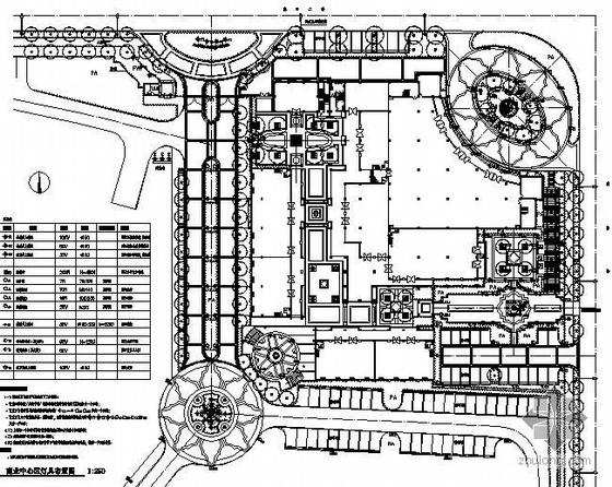 南京小区商业区园林景观工程全套施工图