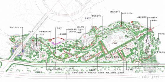 [广东惠州]湖滨公园一期景观设计方案