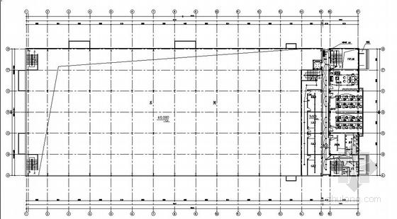 某模具钢车间厂房电气设计图纸
