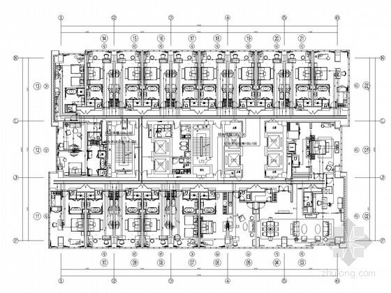 [河北]酒店知名五星图纸弱电深化图纸119张(多全国际v酒店图片