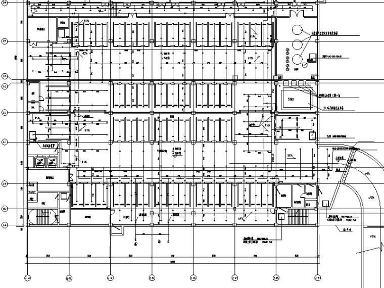 上海银行业务处理三号楼及后勤服务给排水施工图