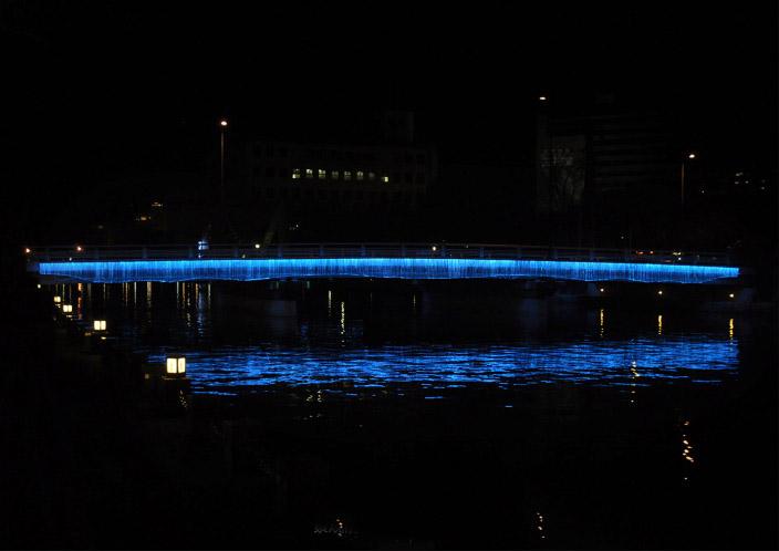 日本德岛2016年灯光艺术装置