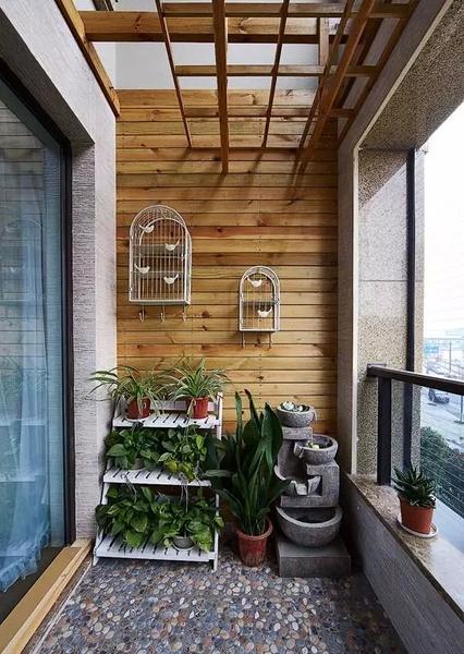 小阳台装修效果图大全2015图片 阳台改造效果图