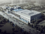 [新疆]四层现代风格U形平面布局党校综合楼建筑设计方案文本