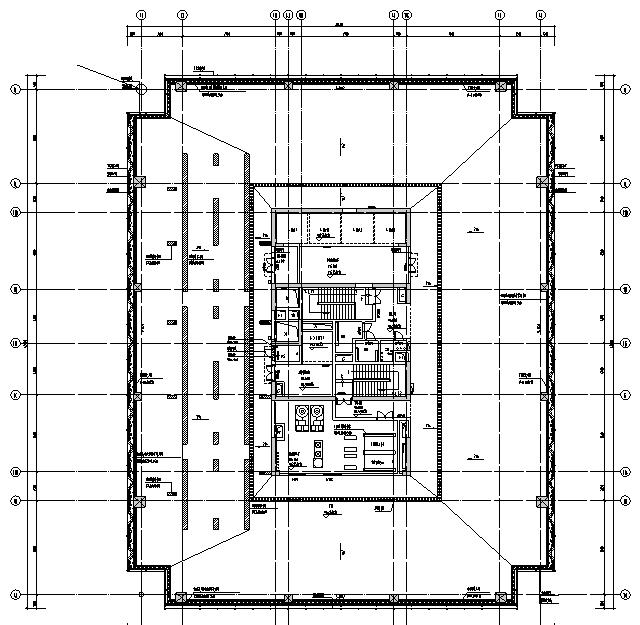 广东超高层综合办公楼及配套建筑电气施工图