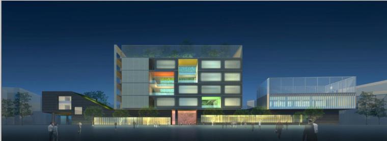 [昆山]某镇第一中心小学建筑设计