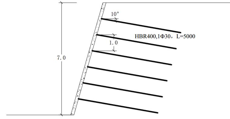 土钉边坡支护设计在某路堤边坡工程中的应用