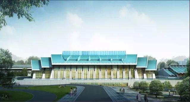 EPC模式下BIM实施的深度应用和实践-武汉大学大学生体育活动中心