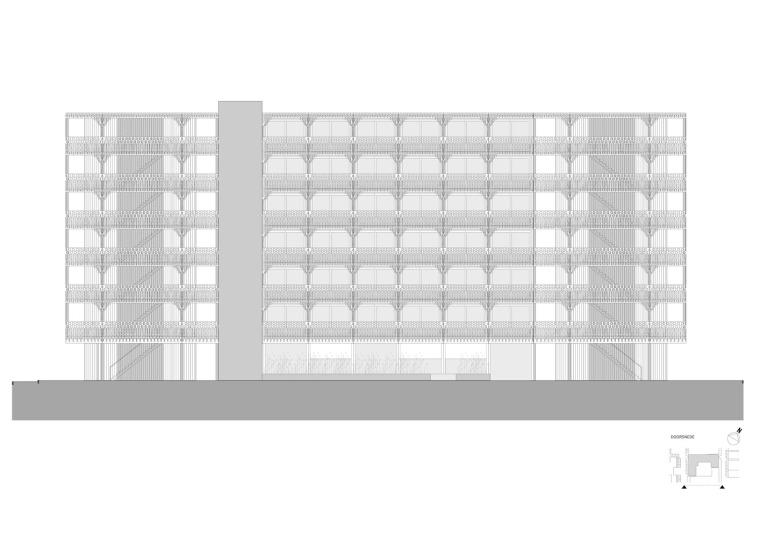 荷兰预制混凝土模块式的住宅-荷兰预制混凝土模块的住宅立面图(15)