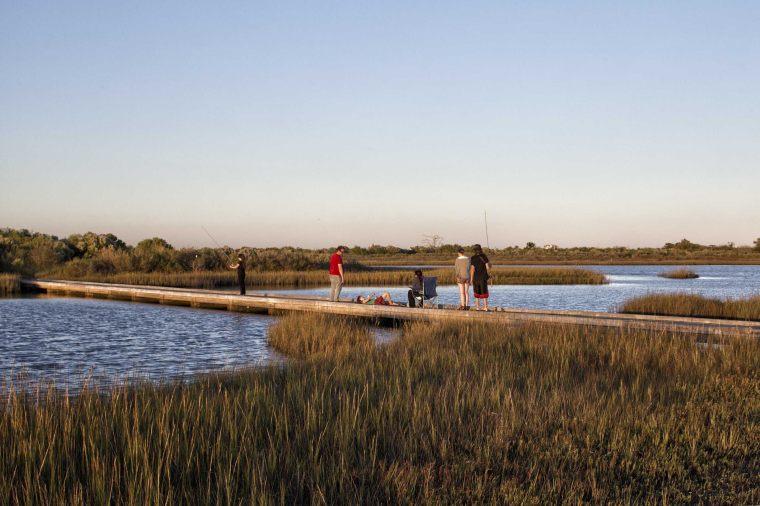 美国加尔维斯敦岛国家生态湿地公园
