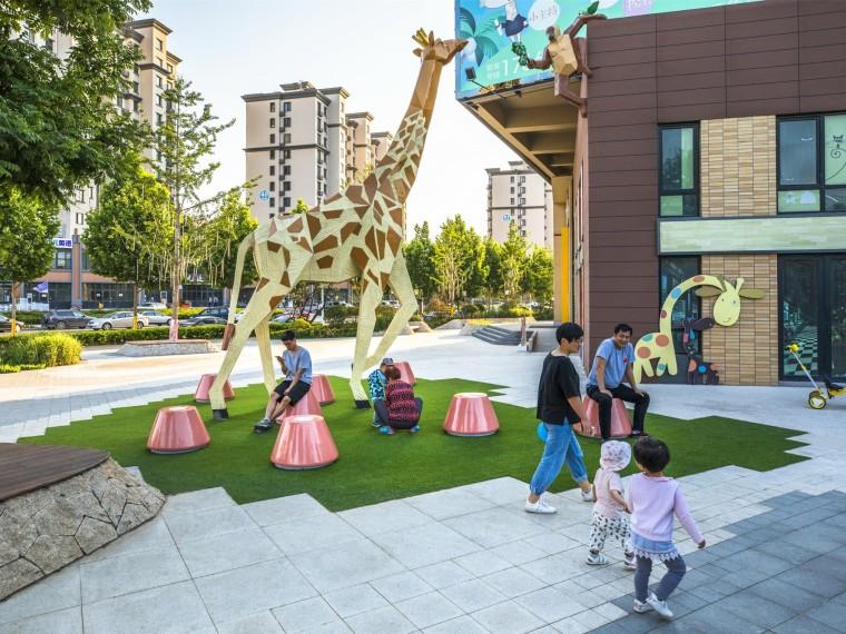 青岛万科桃花源V-Learn儿童成长中心景观